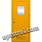 Входная металлическая техническая дверь ТЕХ-008