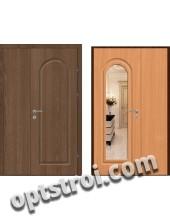 Входная металлическая дверь с зеркалом модель - ДЗ-012