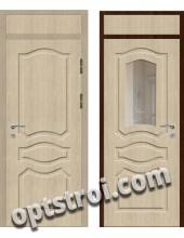 Входная металлическая дверь с зеркалом модель - ДЗ-015