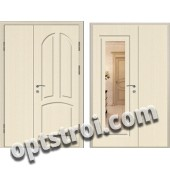 Входная металлическая дверь с зеркалом модель - ДЗ-016