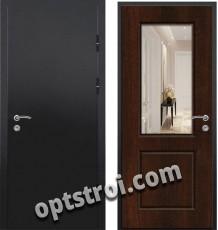 Входная металлическая дверь с зеркалом в С-пб