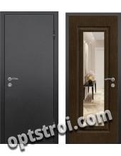 Входная металлическая дверь с зеркалом модель - ДЗ-018
