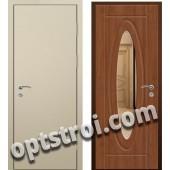 Входная металлическая дверь с зеркалом модель - ДЗ-005