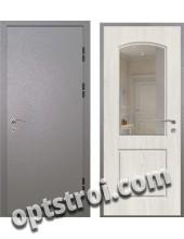 Входная металлическая дверь с зеркалом модель - ДЗ-006