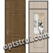 Входная металлическая дверь с зеркалом модель - ДЗ-007