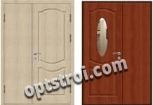Входная металлическая дверь с зеркалом модель - ДЗ-008