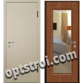 Входная металлическая дверь с зеркалом модель - ДЗ-009