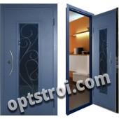 Металлическая дверь с ковкой К10-02