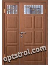 Входная металлическая двухстворчатая дверь для тамбура модель - ДВТ-010