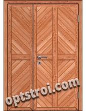 Входная металлическая дешевая тамбурная дверь модель - ТЭ-010