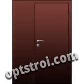 Входная металлическая дешевая тамбурная дверь модель - ТЭ-002