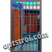 Входная металлическая дешевая тамбурная дверь модель - ТЭ-007