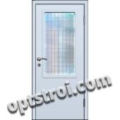 Входная металлическая тамбурная дверь на лестничную площадку модель - ТЛ-002