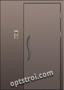 Входная металлическая тамбурная дверь в подъезд модель - ТП-003