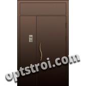 Входная металлическая тамбурная дверь в подъезд модель - ТП-004