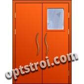 Входная металлическая тамбурная дверь в подъезд модель - ТП-005