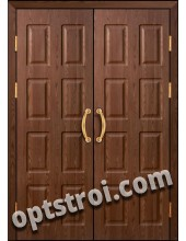 Входная металлическая тамбурная дверь в подъезд модель - ТП-008