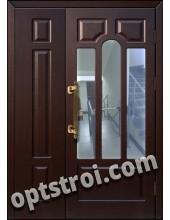 Входная металлическая тамбурная дверь в подъезд модель - ТП-009