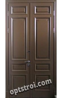 Дверь входная металлическая двухстворчатая - модель А672-02