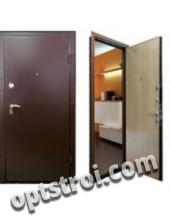 Входная металлическая дверь в загородный дом. Модель А453-04
