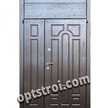 Двустворчатая металлическая дверь. Модель А416-03