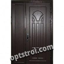 Двустворчатая металлическая дверь. Модель А409-03
