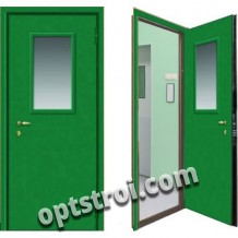 Входная тамбурная металлическая дверь. Модель А628-09