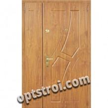 Двустворчатая металлическая дверь. Модель А429-03