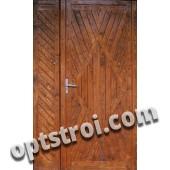 Металлическая дверь для дачи - модель Д10-38