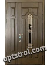 Двустворчатая металлическая дверь. Модель С200-005