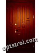 Двустворчатая металлическая дверь. Модель С200-007