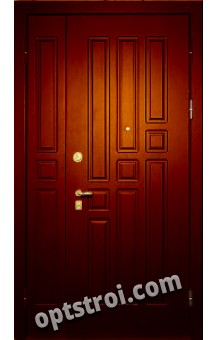 двустворчатая металлическая дверь от производителя