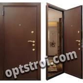 Уличная входная металлическая дверь. Модель У10-02
