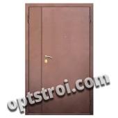 Уличная входная металлическая дверь. Модель У10-03