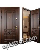 Уличная входная металлическая дверь. Модель У10-07