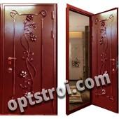 Уличная входная металлическая дверь. Модель У10-08