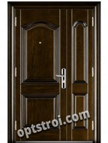 Уличная входная металлическая дверь. Модель У10-09