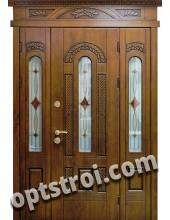 Нестандартная входная металлическая дверь Т10-02