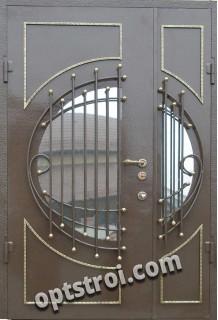 Нестандартная входная металлическая дверь Т10-09