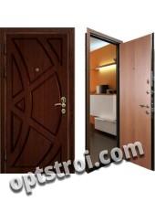 Входная металлическая дверь в квартиру. Модель А296-01