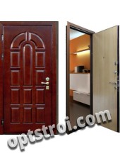 Входная металлическая дверь в загородный дом. Модель А1-01