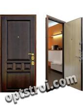 Входная металлическая дверь в загородный дом. Модель 189-02