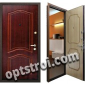 Входная металлическая дверь в загородный дом. Модель А575-06