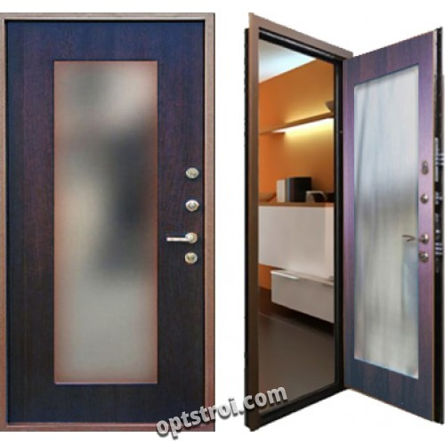двери в офис двустворчатые входные