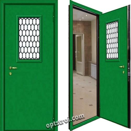 металлическая дверь в производственные помещения