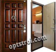 Входная металлическая дверь в коттедж или дом. Модель А199-02