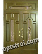 Входная металлическая дверь в старый фонд. Модель А412-03