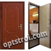 Входная металлическая дверь в старый фонд. Модель А417-03