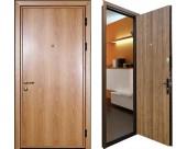 Стандартные входные металлические двери