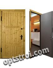 Металлическая дверь для дачи - модель Д10-33
